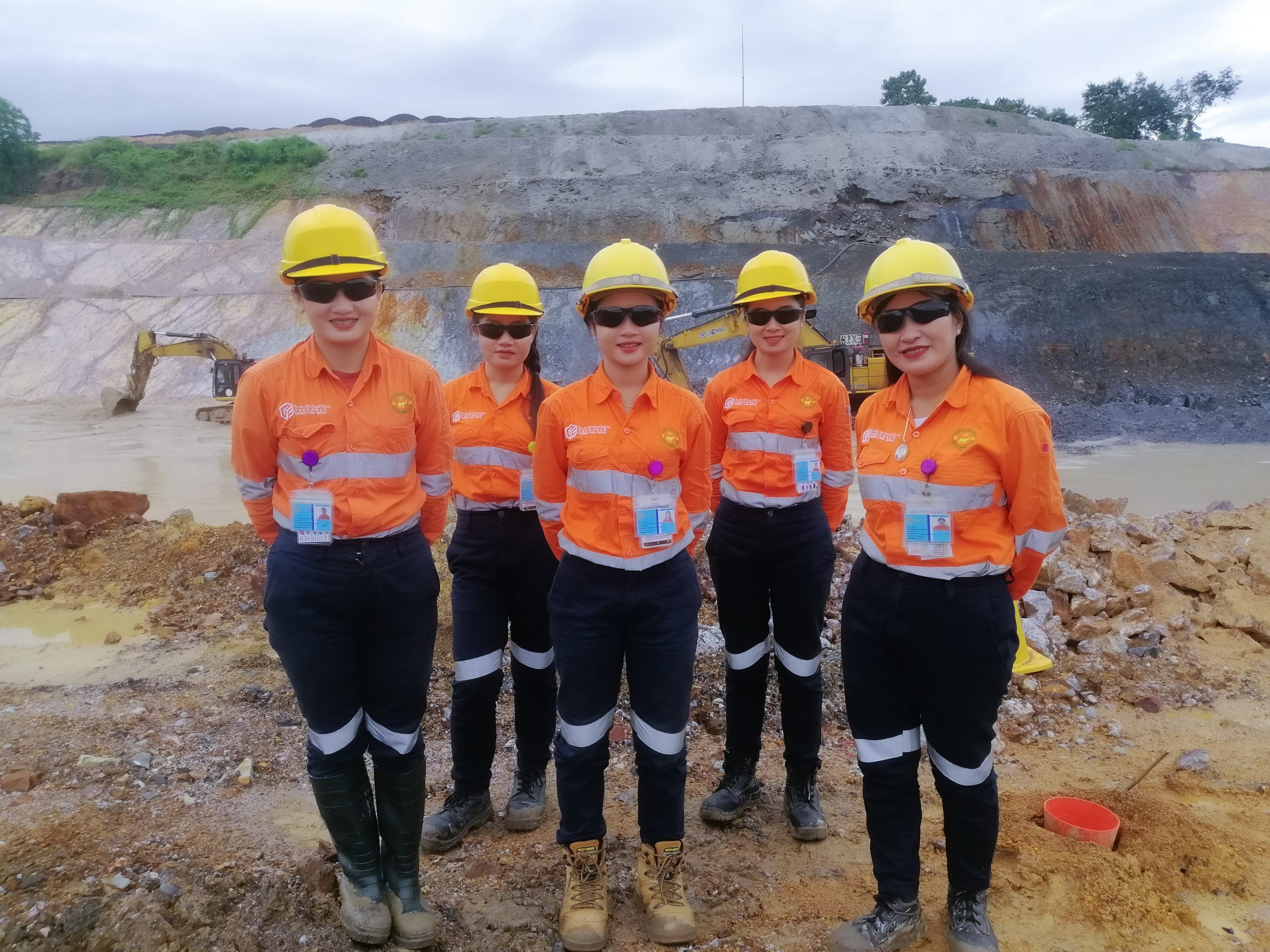 Gender diversity arrives with Geology teams' first female ore spotters