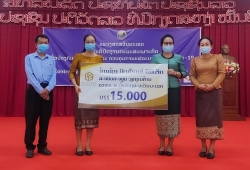 LXML Sepon Supports Savannakhet Province in COVID-19 Response